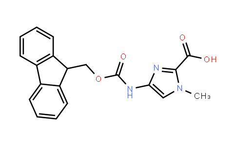 4-(Fmoc-Amino)-1-Methyl-1H-Imidazole-2-Carboxylic Acid
