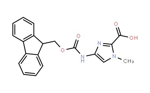 4-(Fmoc-Amino)-1-Methyl-1H-Imidazole-2-Carboxylic Acid