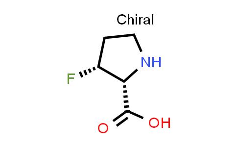 (2R,3R)-3-Fluoropyrrolidine-2-carboxylic acid
