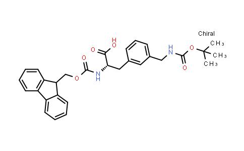Fmoc-L-3-Aminomethylphe(Boc)