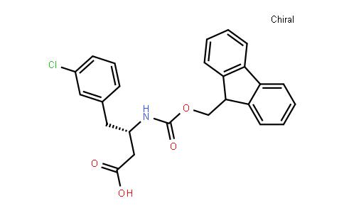 Fmoc-(S)-3-amino-4-(3-chlorophenyl)-butyric acid