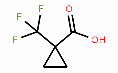 1-(Trifluoromethyl)cyclopropane-1-carboxylic acid