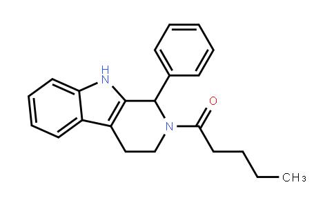 1-[1-Phenyl-3,4-dihydro-1h-pyrido[3,4-b]indol-2(9h)-yl]pentan-1-one