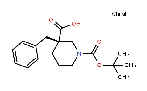 (R)-3-benzyl-1-(tert-butoxycarbonyl)piperidine-3-carboxylic acid