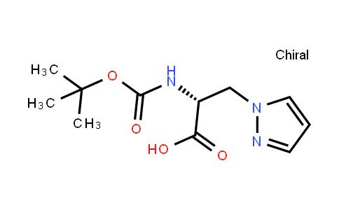 Boc-3-(1-pyrazolyl)-d-alanine