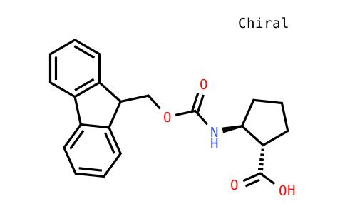Fmoc-(1S,2S)-2-aminocyclopentane carboxylic acid