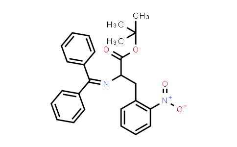 Tert-butyl 2-(benzhydrylideneamino)-3-(2-nitrophenyl)propanoate