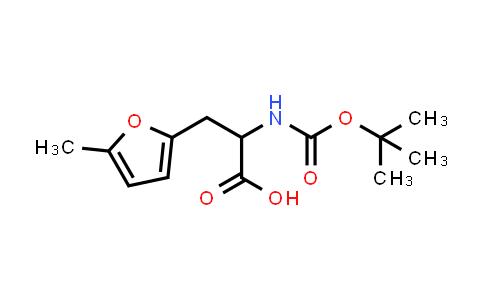 3-(5-Methylfuran-2-YL)-2-[(2-methylpropan-2-YL)oxycarbonylamino]propanoic acid