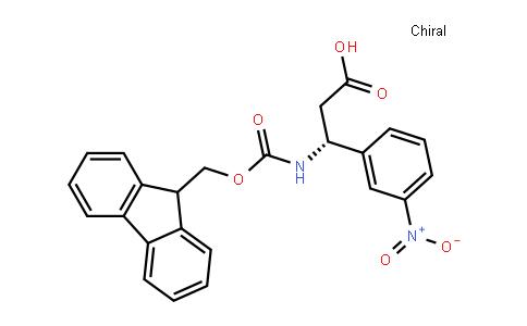 (3R)-3-(9h-fluoren-9-ylmethoxycarbonylamino)-3-(3-nitrophenyl)propanoic acid