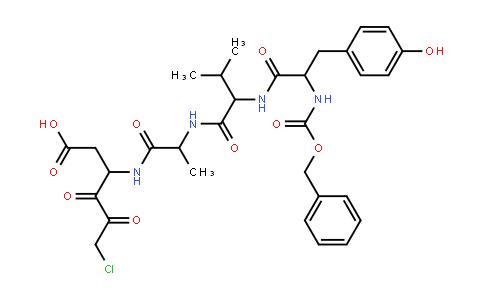 Z-Tyr-Val-Ala-Asp-Chloromethylketone