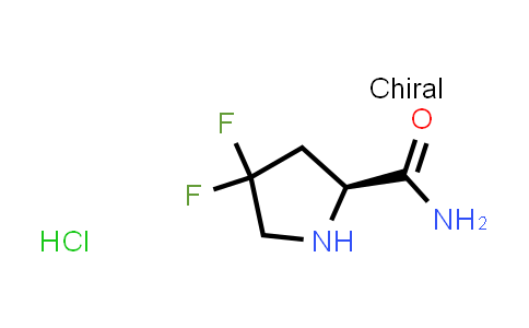 (S)-4,4-Difluoropyrrolidine-2-carboxamide hydrochloride