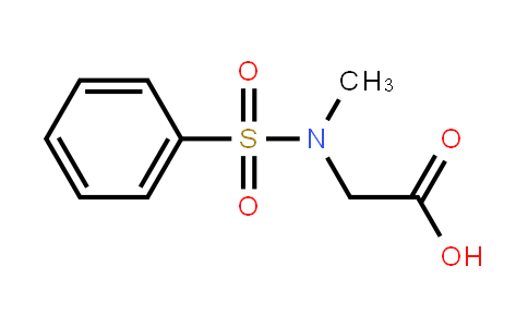 2-[Benzenesulfonyl(methyl)amino]acetic acid