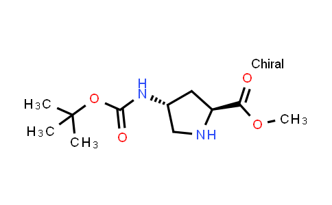 Methyl (2s,4r)-4-[(2-methylpropan-2-yl)oxycarbonylamino]pyrrolidine-2-carboxylate