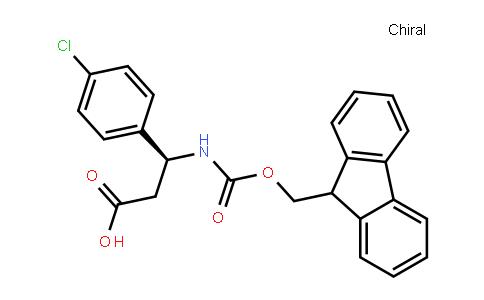 Fmoc-(S)-3-Amino-3-(4-Chlorophenyl)Propionic Acid