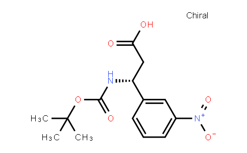 (3R)-3-[(2-methylpropan-2-yl)oxycarbonylamino]-3-(3-nitrophenyl)propanoic acid