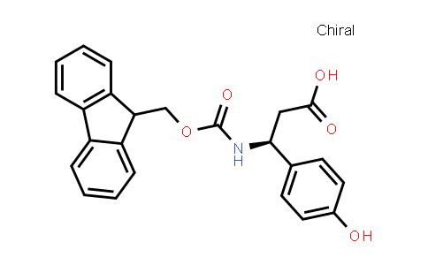 (3S)-3-(9H-Fluoren-9-ylmethoxycarbonylamino)-3-(4-hydroxyphenyl)propanoic acid