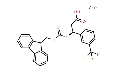 (3S)-3-(9H-Fluoren-9-ylmethoxycarbonylamino)-3-[3-(trifluoromethyl)phenyl]propanoic acid