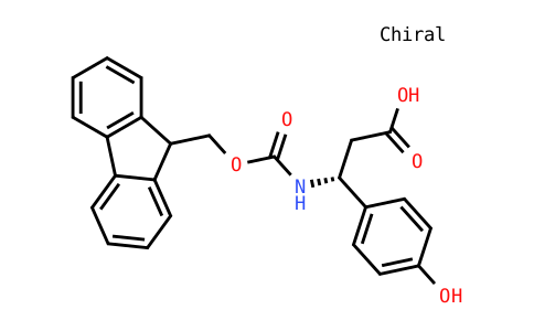 Fmoc-(R)-3-Amino-3-(4-Hydroxy-Phenyl)-Propionic Acid