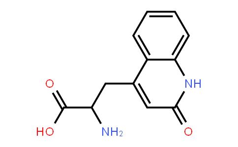 2-amino-3-(1,2-dihydro-2-oxoquinoline-4-yl)propionic acid