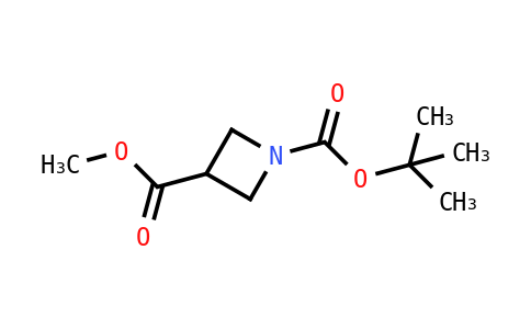 1-Tert-butyl 3-methyl azetidine-1,3-dicarboxylate