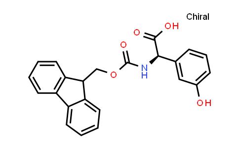Benzeneacetic acid, α-[[(9H-fluoren-9-ylmethoxy)carbonyl]amino]-3-hydroxy-, (αR)-