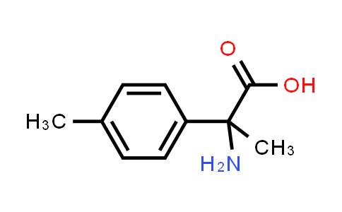 Benzeneacetic acid, α-amino-α,4-dimethyl-