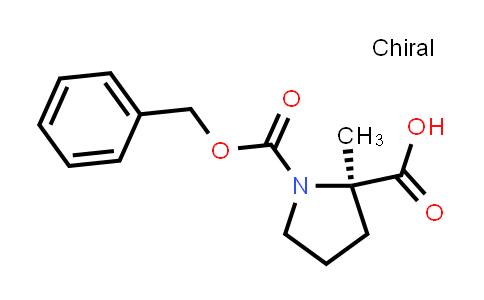 (2R)-2-Methyl-1-phenylmethoxycarbonylpyrrolidine-2-carboxylic acid