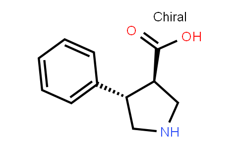 (3R,4s)-4-phenylpyrrolidine-3-carboxylic acid