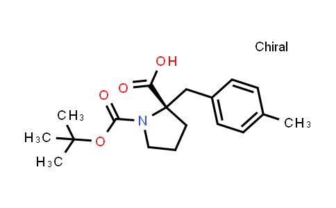 Boc-(S)-alpha-(4-methyl-benzyl)-proline