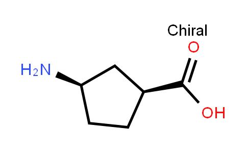 (1S,3r)-3-aminocyclopentane-1-carboxylic acid