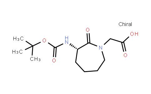Boc-(3S)-3-Amino-1-Carboxymethylcaprolactame