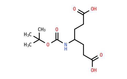 4-(N-Boc-Amino)-1,6-Heptanedioic Acid