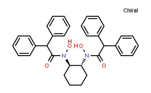 N-[(1r,2r)-2-[(2,2-diphenylacetyl)-hydroxyamino]cyclohexyl]-n-hydroxy-2,2-diphenylacetamide