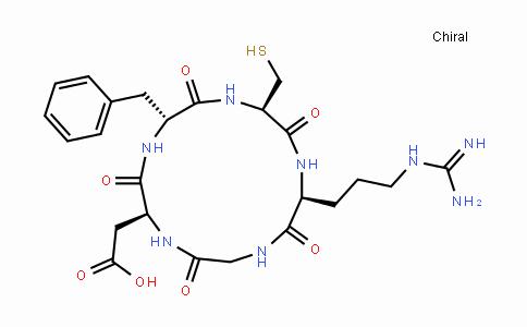 Cyclo(l-arginylglycyl-l-α-aspartyl-d-phenylalanyl-l-cysteinyl)