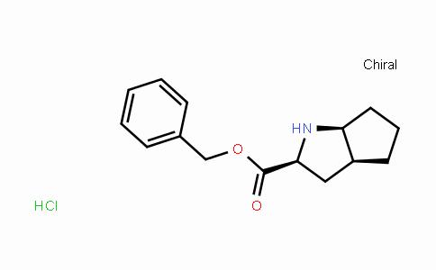 Benzyl (2s,3as,6as)-1,2,3,3a,4,5,6,6a-octahydrocyclopenta[b]pyrrole-2-carboxylate hydrochloride