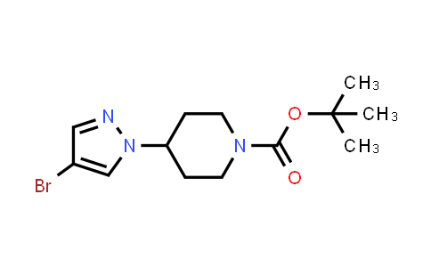 Tert-butyl 4-(4-bromopyrazol-1-yl)piperidine-1-carboxylate