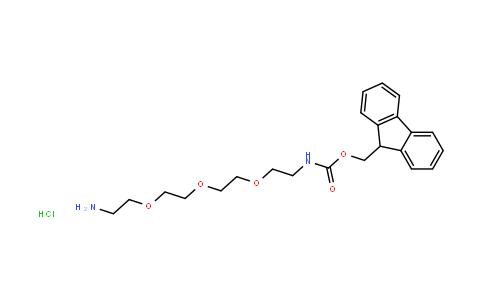 FmocNH-PEG3-CH2CH2NH2 Hydrochloride