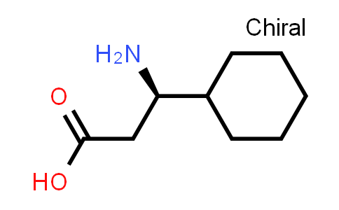 Cyclohexanepropanoic acid, β-​amino-​, (βR)​-