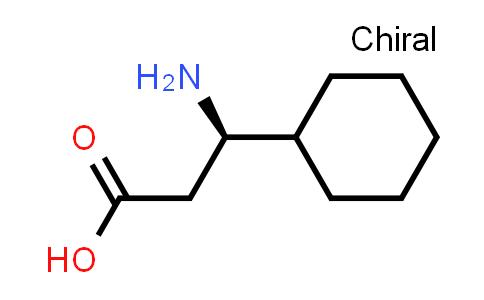 Cyclohexanepropanoic acid, β-amino-, (βR)-