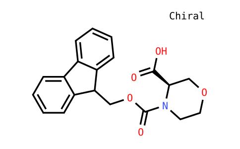 4-Fmoc-3(R)-morpholinecarboxylic acid