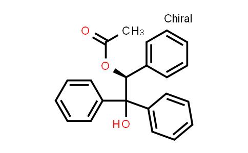 [(1S)-2-Hydroxy-1,2,2-triphenylethyl] acetate