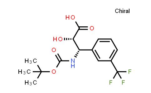 N-boc-(2S,3S)-3-amino-2-hydroxy-3-(3-trifluoromethyl-phenyl)-propionic acid
