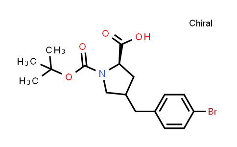 Boc-(R)-gamma-(4-bromo-benzyl)-L-proline