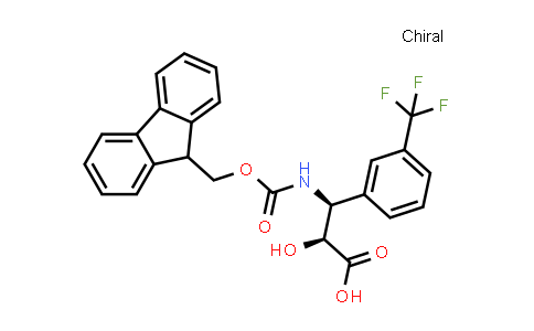 N-fmoc-(2S,3S)-3-amino-2-hydroxy-3-(3-trifluoromethyl-phenyl)-propionic acid