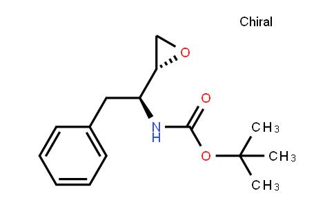 tert-butyl N-[(1S)-1-[(2R)-oxiran-2-yl]-2-phenylethyl]carbamate
