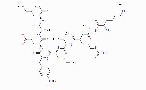 Lys-Ala-Arg-Val-Nle-p-nitro-Phe-Glu-Ala-Nle amide