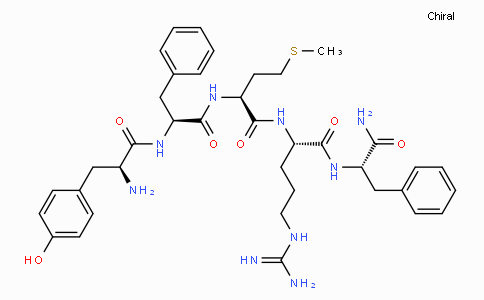 H-Tyr-Phe-Met-Arg-Phe-NH2