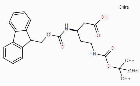 (R)-N-Beta-Fmoc-N-delta-Boc-3,5-diaminopentanoic acid
