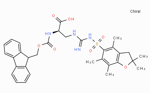 Fmoc-D-(3,(Pbf)Guanidino)-Ala-OH