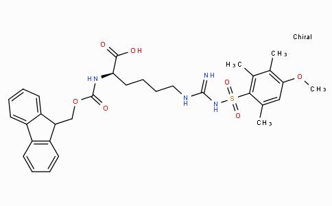Fmoc-D-homoArg(Mtr)-OH